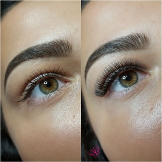 Mascara vs L'extension